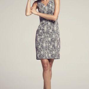 MM Lafluer. Annie. Monochrome print dress